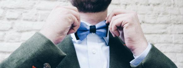 Accessoires costume sur mesure Bruxelles - noeud papillon