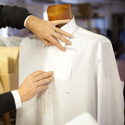 Chemise Sur-Mesure Bruxelles - tailleur