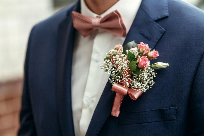 costume de mariage sur-mesure