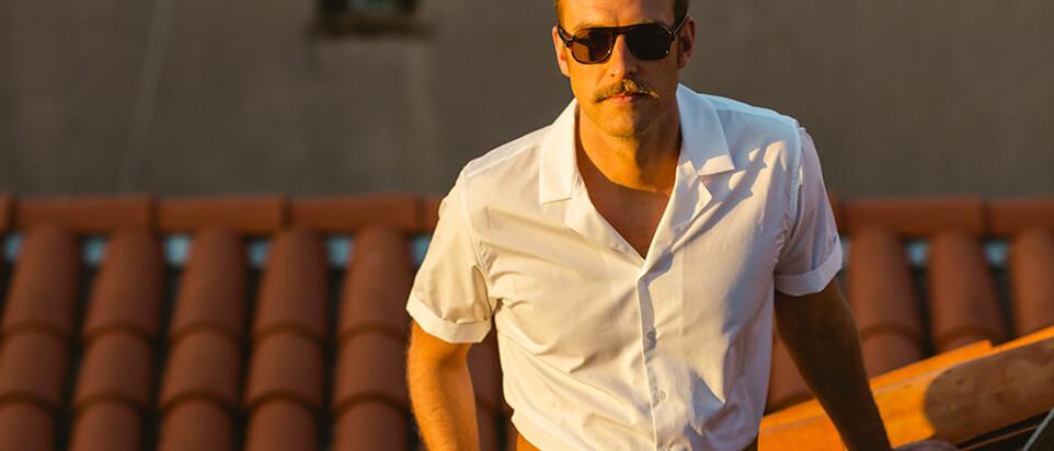 chemise sur-mesure chemise été manches courtes