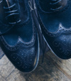 Bespoke By Chaussures Noirs Empeigne