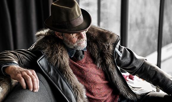 bespoke by manteau brun doudoune