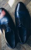 Chaussure Sur Mesure Chaussures Bleu Brun Paquet