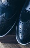 Chaussure Sur Mesure Chaussures Noir Empeigne