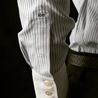chemise sur mesure patte capucin