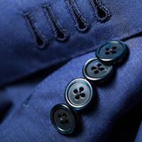 costume sur mesure boutonniere