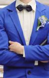 Costumes De Mariage Costume Bleu
