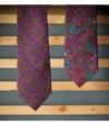 Cravate Calabrese Fleuri
