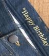 Jeans Sur Mesure Broderie