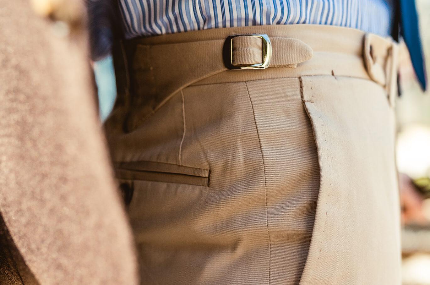 pantalon bespoke by