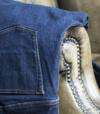 Sportswear Sur Mesure Jeans Bleu Coutures