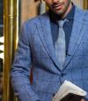 Sportswear Sur Mesure Veston Bleu