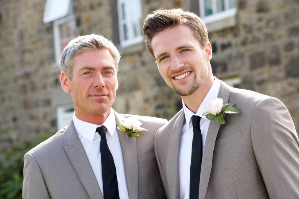 Costume de mariage pour gay